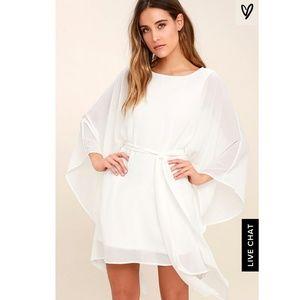 Heavenly Being White Kaftan Dress